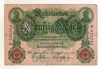 GERMANY 50 Mark 1906