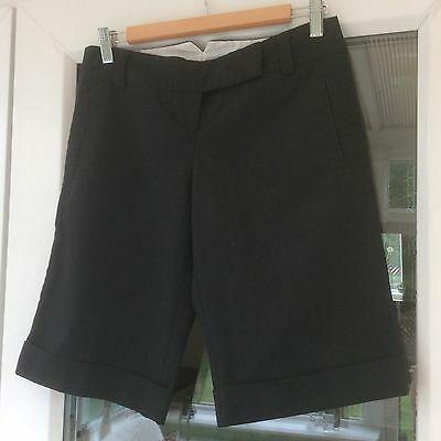 Women's Black Tailored Shorts - Topshop