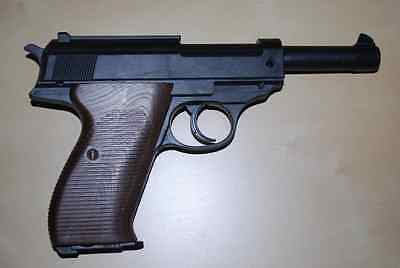 Walther P38 Prop Costume Toy Assault Rifle With Working Slide