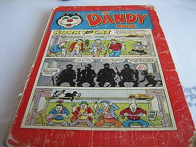 1957 The Dandy Book Annual. VINTAGE. RARE. My ref K1