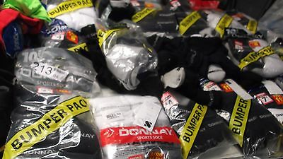Joblot 155 Pairs Donnay  Sports Socks  Mixed Adult Trainers Wholesale Car Boot