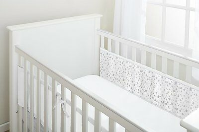 Breathable Baby Two Sided Cot Mesh Liner (Twinkle Stars)