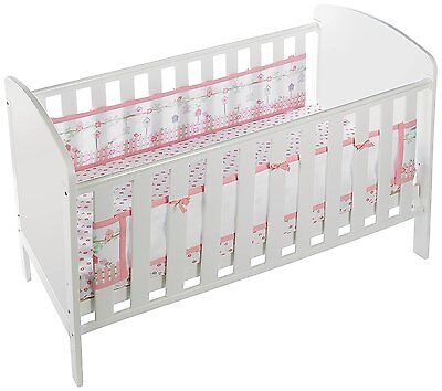 Breathable Baby Two Sided Cot Mesh Liner (English Garden)