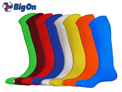 *CLEARANCE NEW* BIGON - 15 x CLUB FOOTBALL SOCKS - MANY COLOURS & SIZES