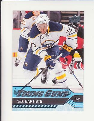 2016-17 UD Series 2 - Nick Baptiste Young Guns Rookie  # 477 (16-17) Read Cond.