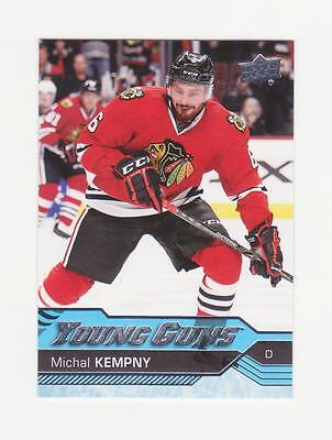 2016-17 UD Series 2 - Michal Kempny Young Guns Rookie Card # 480 (16-17)