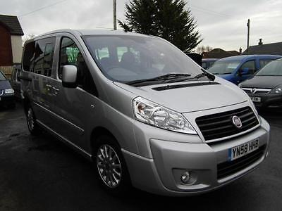 Fiat Scudo wav wheelchair accessible vehicle disabled access car