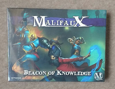 Wyrd Games MALIFAUX M2E Arcanists BEACONS OF KNOWLEDGE Starter Miniature Set