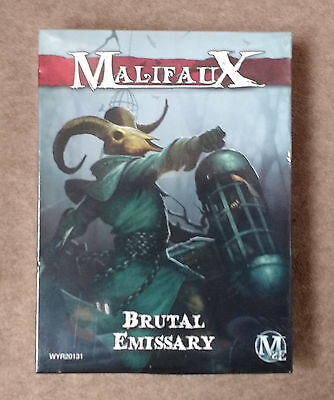 Wyrd Games MALIFAUX Guild BRUTAL EMISSARY M2E Miniatures Set