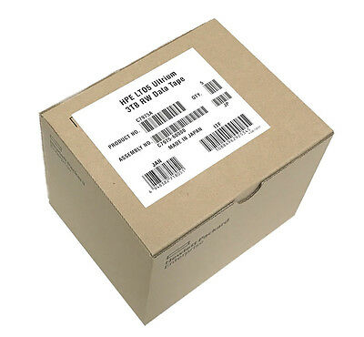 New (5 Pack) Hp C7975A Lto5 Ultrium Tape Cartridges Hpe Sealed
