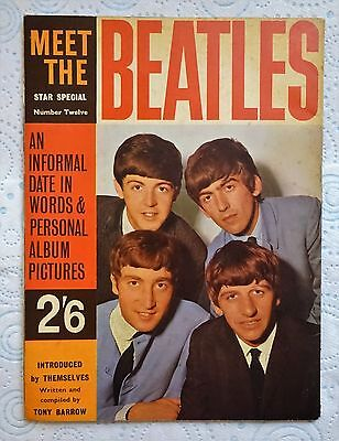 Meet The Beatles magazine. UK Star Edition No.12. 1963.  Numerous photos