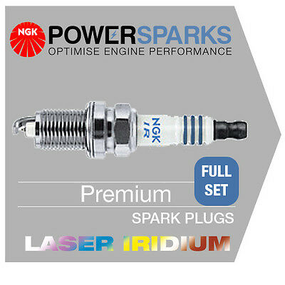 fits Subaru FORESTER 2.0 08/05- NGK IRIDIUM SPARK PLUGS x 4 ILFR6B [6481] NEW!