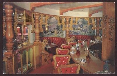 Madonna Inn Coffee Counter San Luis California Interior Restaurant Postcard