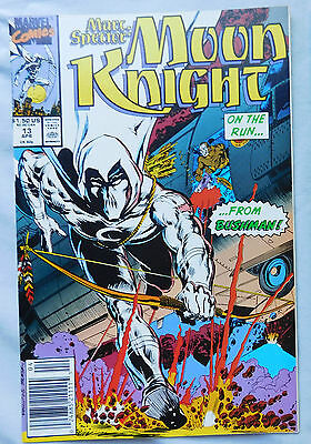 Marc Spector: Moon Knight #13 (Apr 1990, Marvel)  nm