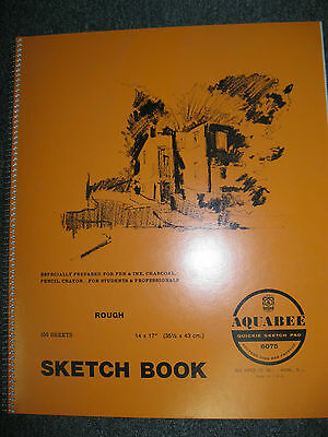 BEE PAPER AQUABEE SKETCH PAD QUICKIE 14x17''inches  100 SHEETS #6075R
