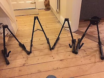 Job Lot Guitar stands Electric Acoustic x 4