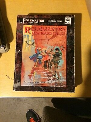 Rolemaster Standard System Rule Book (Merp)