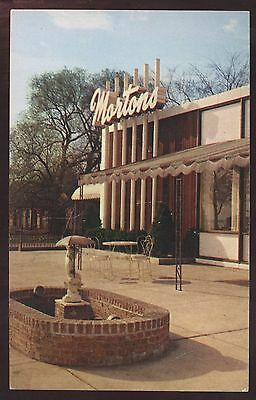 Mortons Chicago Illinois Restaurant Lake Michigan Postcard