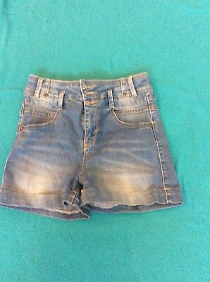 ladies size 8 high waisted shorts