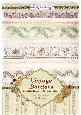 Vintage Borders Anita Goodesign Embroidery Designs Cd