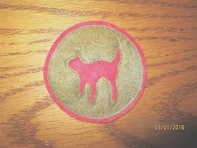 """WWI US Army patch 81st  Division """"WIld Cat"""" Artillery patch AEF"""