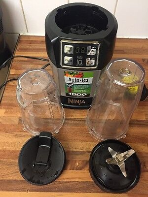 Nutri Ninja BL480UK Auto-iQ 1000W Extraction Blender with 2 Cups Unbox