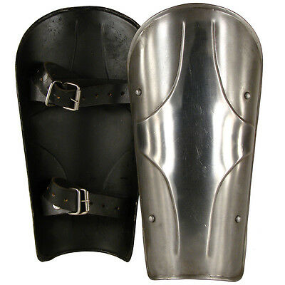 The Kings Greaves - Leg Armour - Perfect For Re-enactment or LARP##