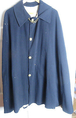 Scarce Royal Navy Captains Boat Coat Uniform Jacket / Tunic c1900 British
