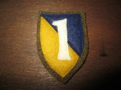 WWI US Army Chemical Corps Unit patch AEF