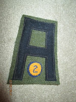 WWI US Army First Army Chemical Corps patch AEF