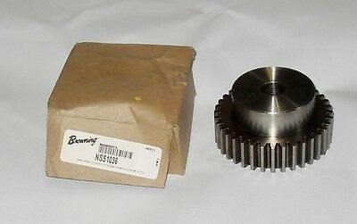 "Browning NSS1036 3/4"" Plain Bore Spur Gear 3-3/4"" Diameter"