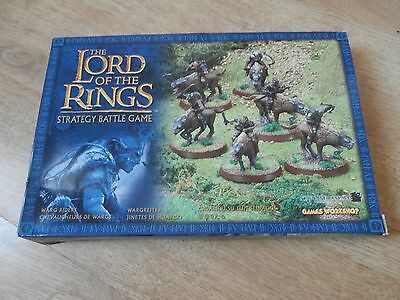 Warhammer-Lord Of The Rings Warg Riders