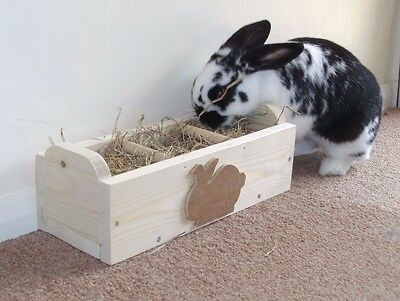 Rabbit Hay Feeder, Feeding Trough