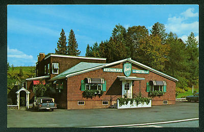 Aime's Motel and Restaurant Vermont St. Johnsbury Postcard