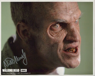 Mike Mundy In Person Signed Photo - B775 - The Walking Dead
