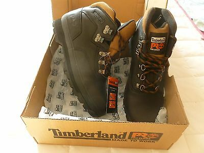 Chaussure Securite Timberland Pro Neuve Tige Montante Cuir Noir Pointure 43