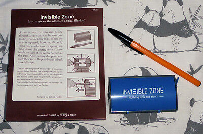 Invisible Zone T-172 by Tenyo Magic trick illusion