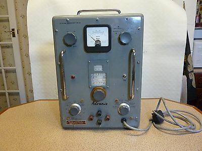 Advance Type 81a Valve Signal Generator