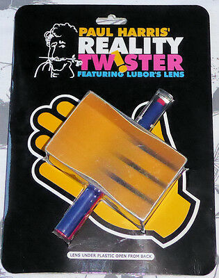 Reality Twister by Paul Harris - featuring Lubor's lens  - magic trick illusion