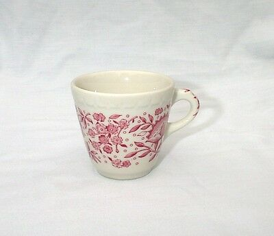 Roxberry Red Demitasse Cup Syracuse China