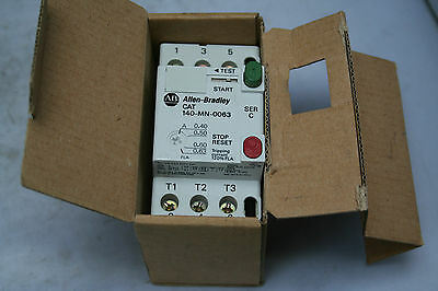 New Allen Bradley 140-Mn-0063 Manual Motor Starter / Breaker