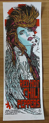 Rhys Cooper  Red Hot Chili Peppers Usa Lim:ed: Poster