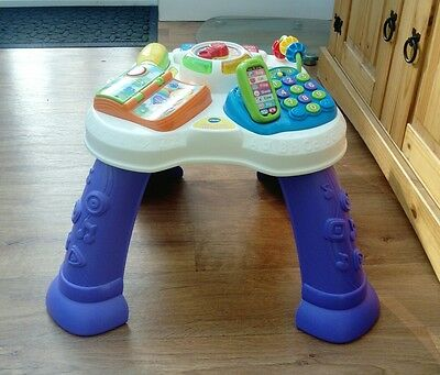 VTech Baby Play And Learn Activity Electronic Table.  RRP £29.99