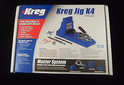 Kreg Kreg Jig K4 Master System - The Easy Way to Buld with Wood