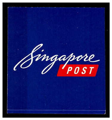 Singapore Post Stamp Booklet. 1st Local Post Stamps.  Mint.  #230