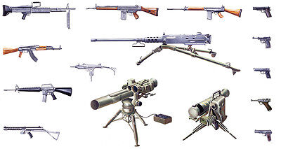 1/35th scale Modern Light weapons set by Italeri ~ 6421
