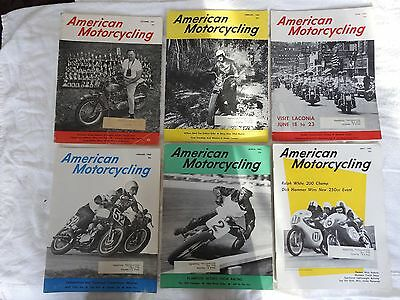 1960's American Motorcycling Magazines