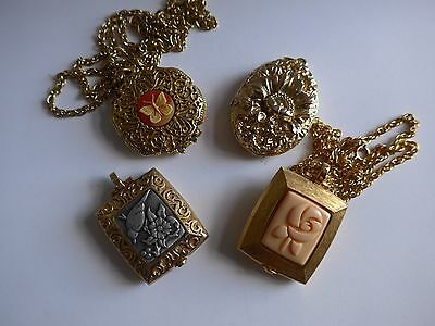 Solid Perfume Compacts Pill Trinket Box Lot #6