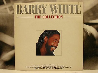 Barry White - The Collection Lp Vg+ Hungary Pressing
