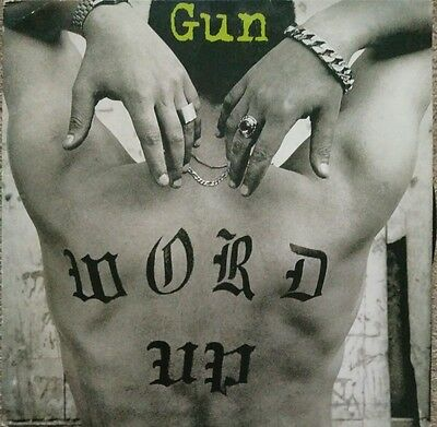 """Gun - """"Word Up"""" 12"""" inch single (Cameo cover)"""